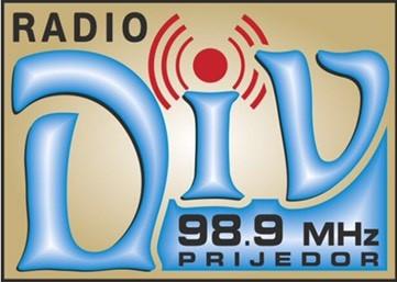 DIV RADIO PRIJEDOR 98,9 MHz Logo