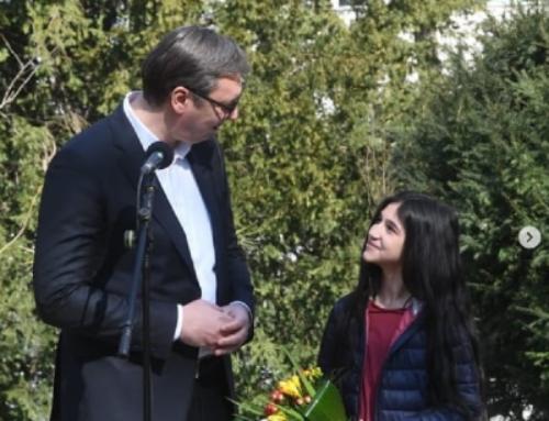 Vučić ugostio Biljanu Čekić: Zaslužila je više od Oskara